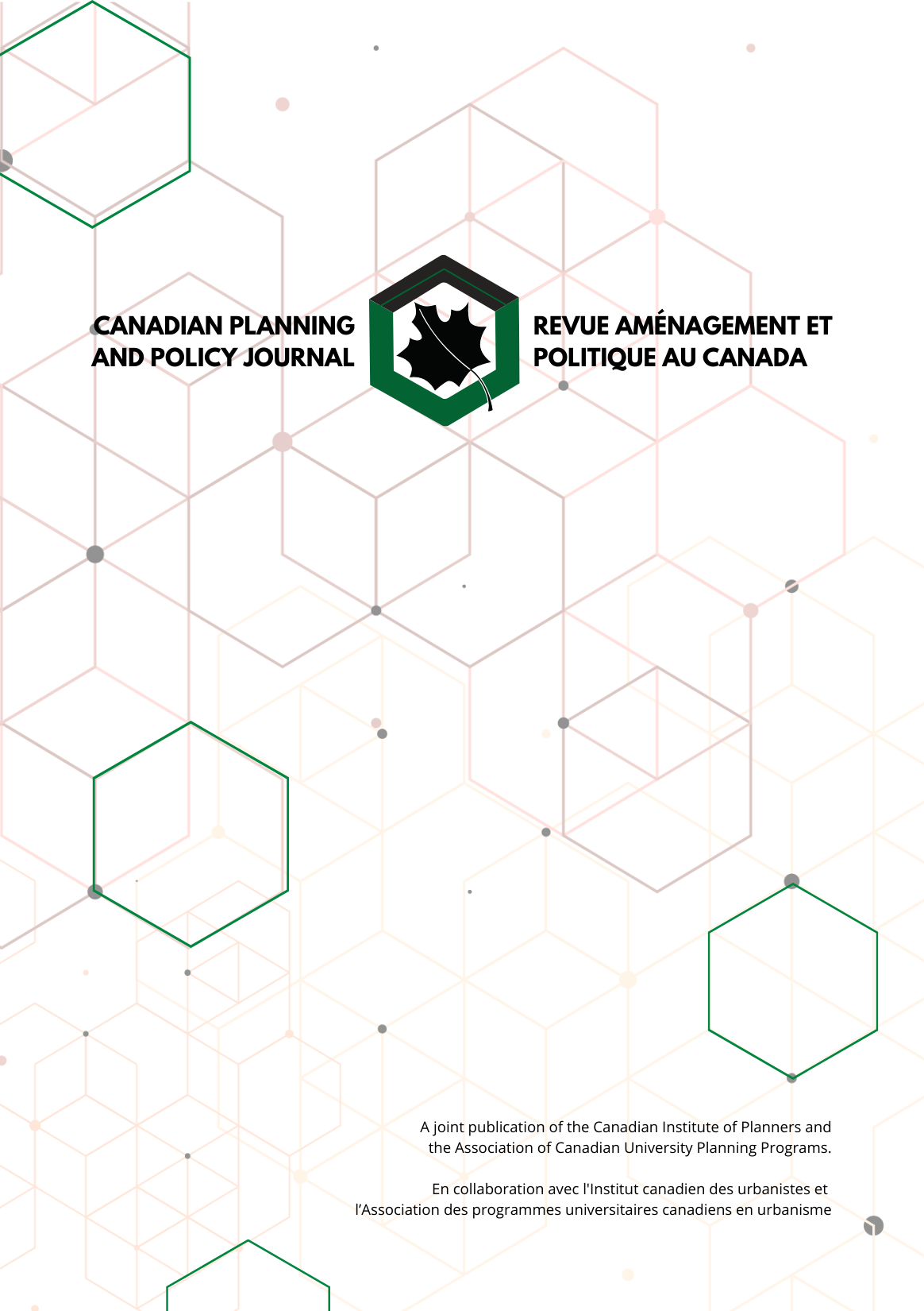 Canadian Planning and Policy Journal